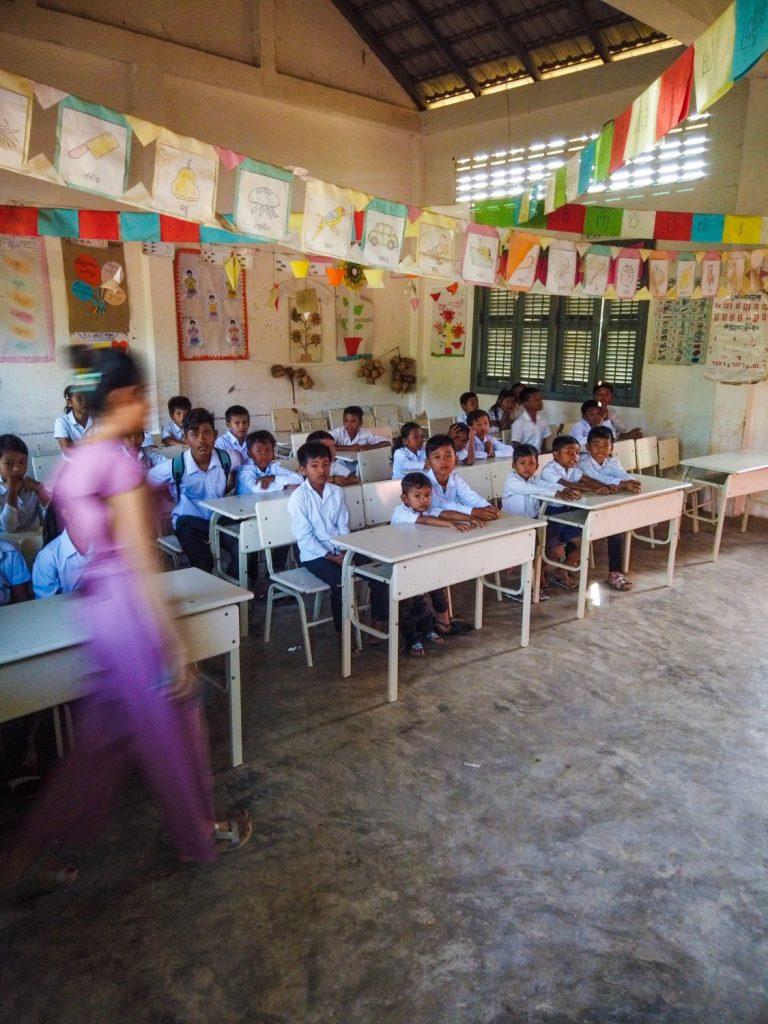 Cambo Challenge Preah Romkel community school