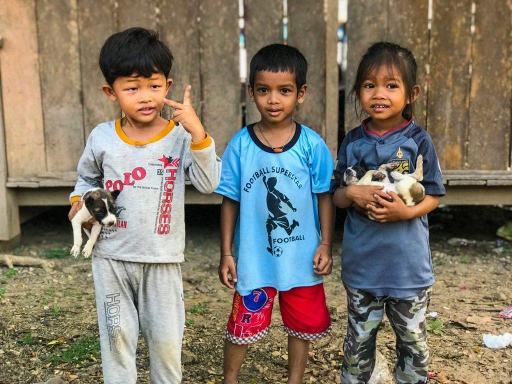 Cambo Challenge Preah Romkel community kids