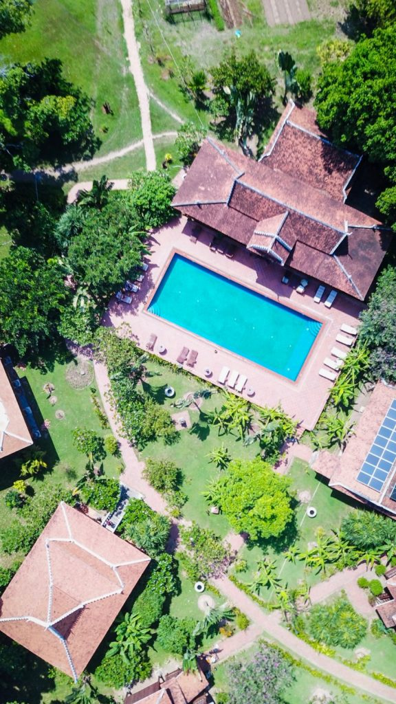 Cambo Challenge Rajabori Villas Kaoh Trong drone picture