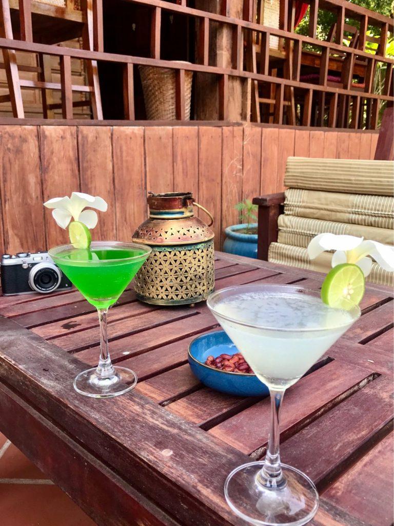 Cambo Challenge Rajabori Villas Kaoh Trong cocktails